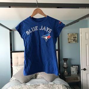 MUST bundle Blue Jays Blue Shrunken Tee Shirt